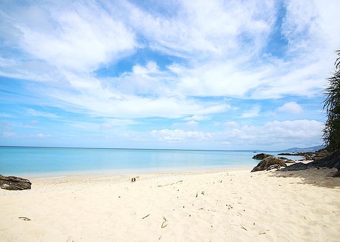 恩納村ビーチ 海 天然ビーチ
