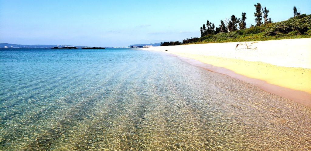 近くのビーチ♪